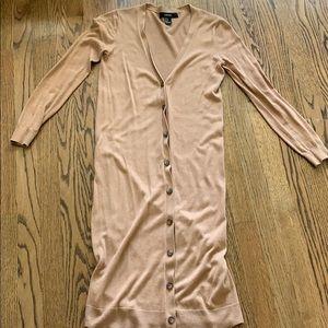 F21 long cardigan
